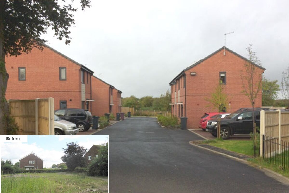 Bolsover Development Land Strategy - Before and After