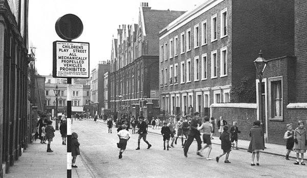 Image 7 1950s play street London Play