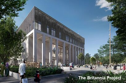 Building London Planning Awards britannia