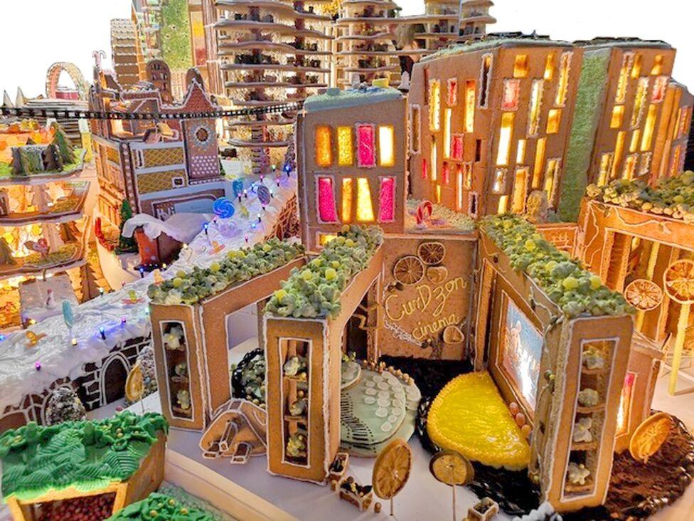 Gingerbread city 2018