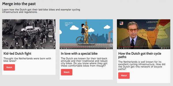Saskias blog screenshot Videos on Dutch cycling history 1024x511