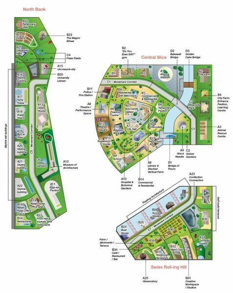 Illustrative masterplan with labels 814x1024