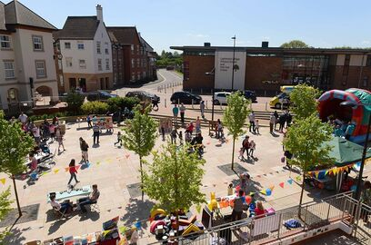 A focus for activity at Lightmoor Central Square
