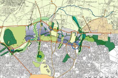 Major sites, Warfield - Conceptual diagram crop