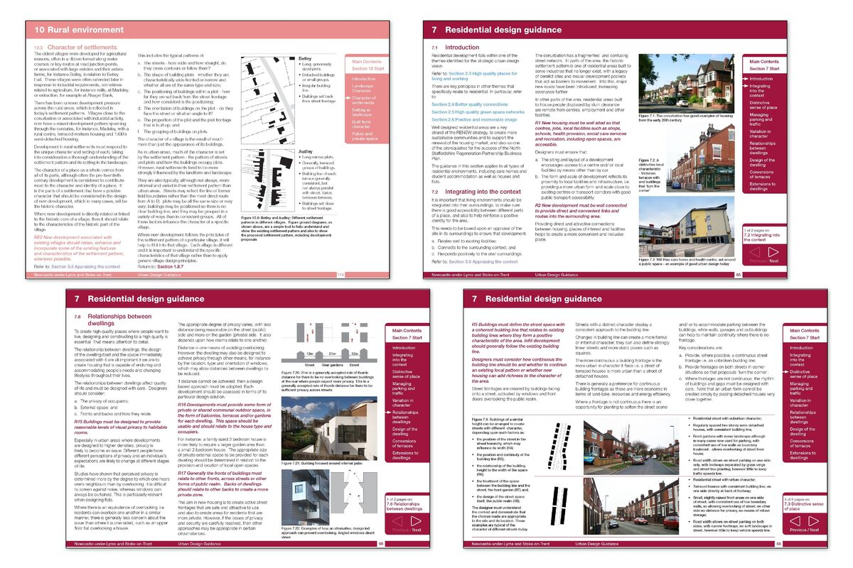 The Design Guide provides clear guidance on how to produce and assess good, sustainable urban design within the planning application process for the benefit of applicants, planning officers, and politicians.