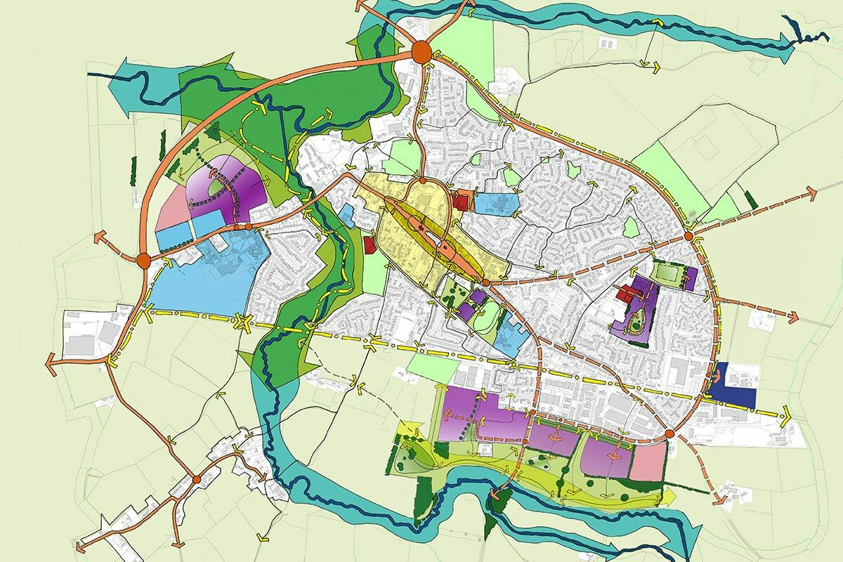 The overall future vision for Thame