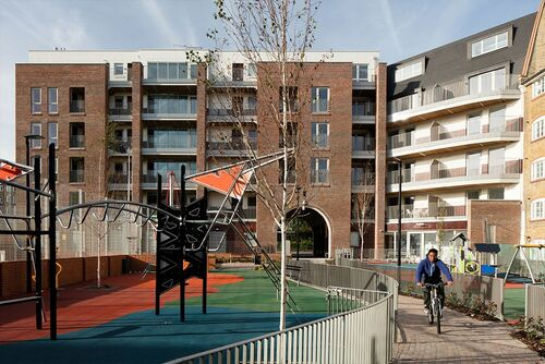 New and replacement affordable housing, new community facilities and a much improved public realm