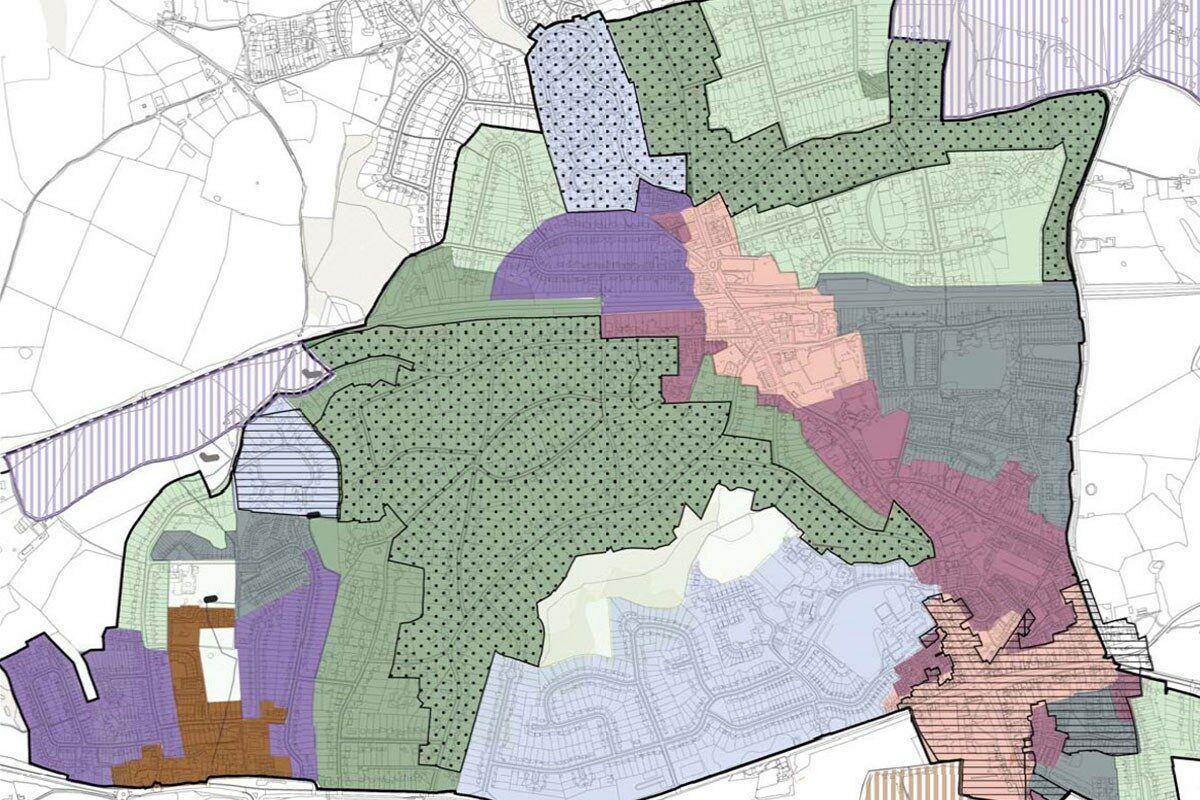 South Buckinghamshire character plan