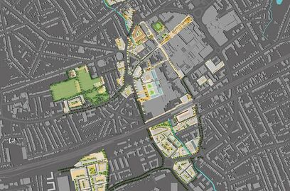 Romford Development Framework illustrative masterplan