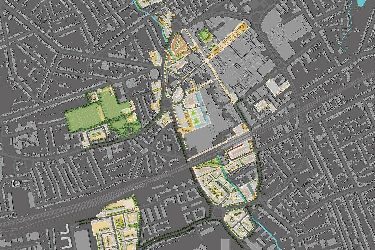 Romford Development Framework illustrative masterplan