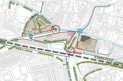 Developing a strategy for Winchester Station Approach