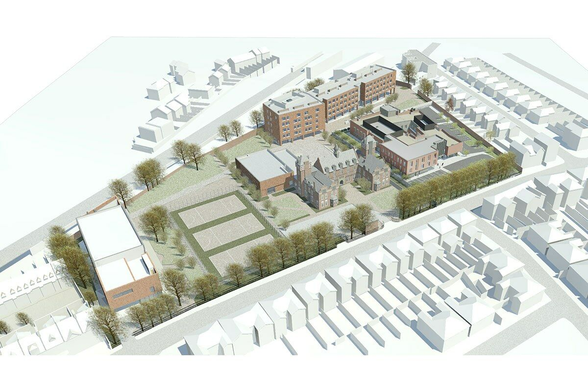 5603 Charter School scheme view
