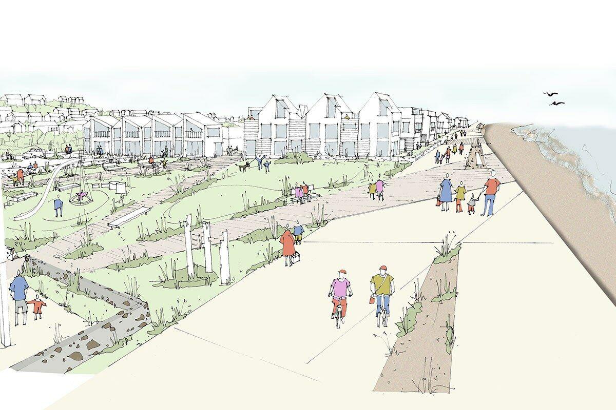 5612 Princes Parade Folkestone open space sketch