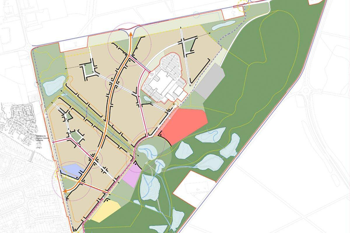 Bucklers Park masterplan