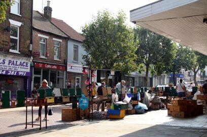 Market day in Gillinghams High Street