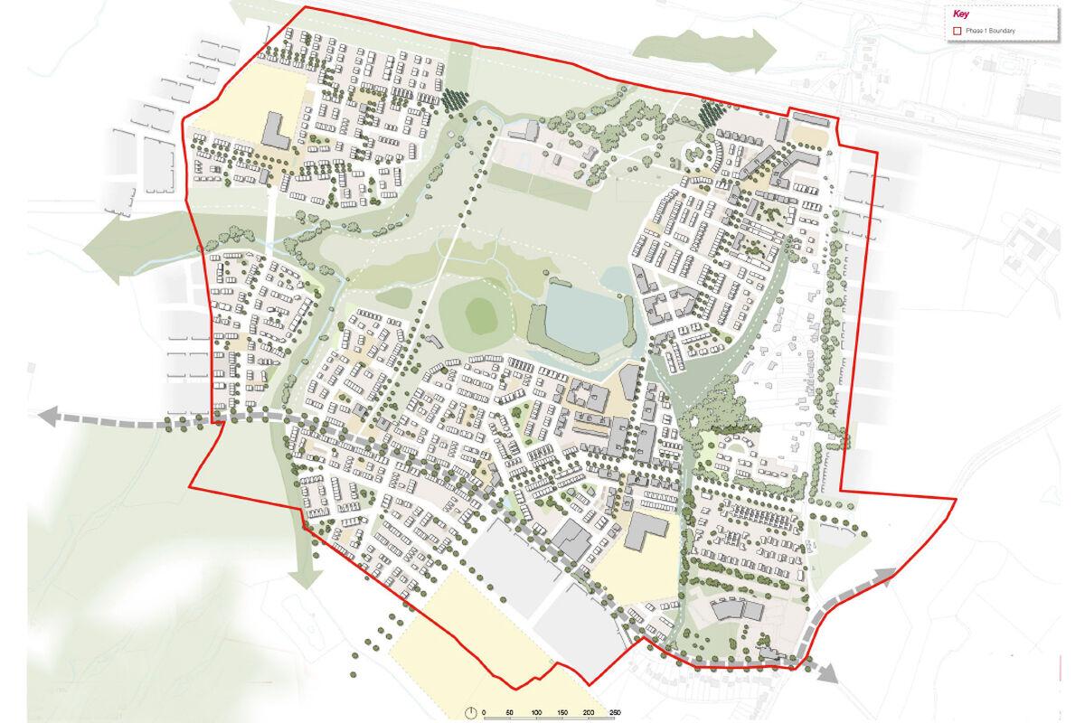 Otterpool Illustrative masterplan