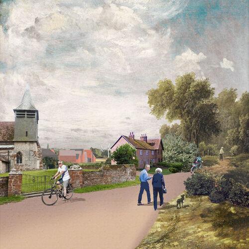 Hoggeston Church View