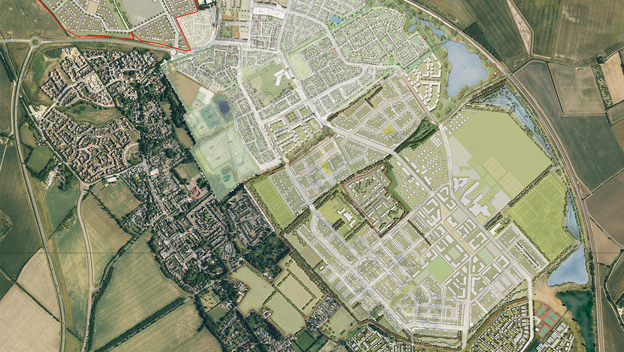 Northstowe Phases 2 and 3 Illustrative Masterplan